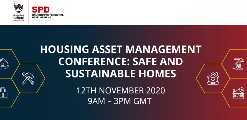 Asset Wisdom Ltd Sponsors the Salford Professional Development Virtual Housing Conference